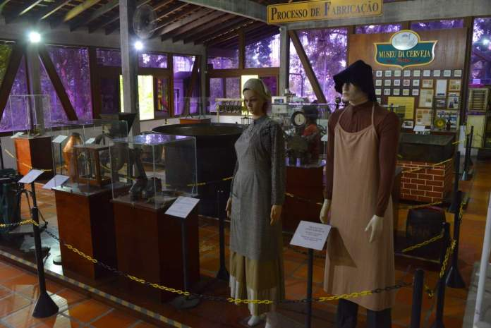 Museu da cerveja em Blumenau, Santa Catarina.