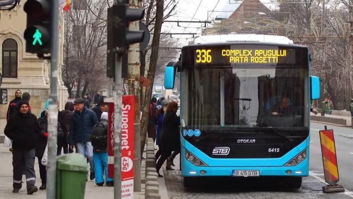 Ônibus em Bucareste - Romênia