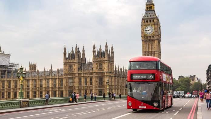 Ônibus de Londres - Inglaterra