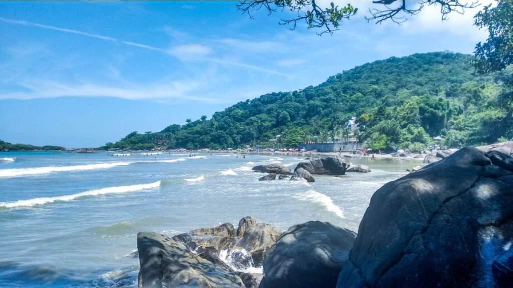 Praia do Camborê em Peruíbe - São Paulo