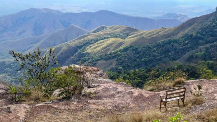 Linda vista na Chapada dos Guimarães - Mato Grosso