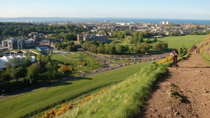 Holyrood Park, Edimburgo, Escócia