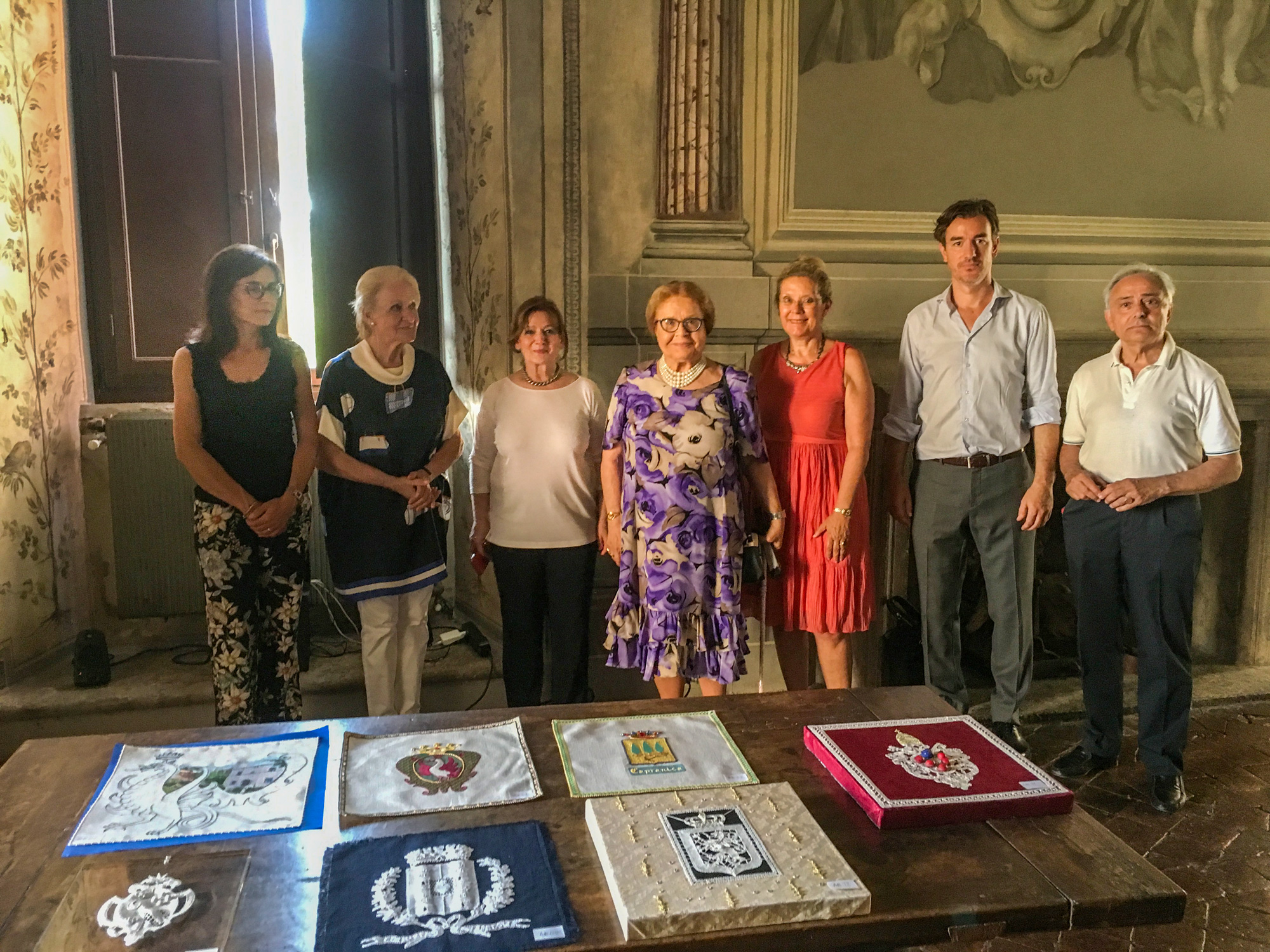 Finalists of the International Contest organized by Bolsena Ricama