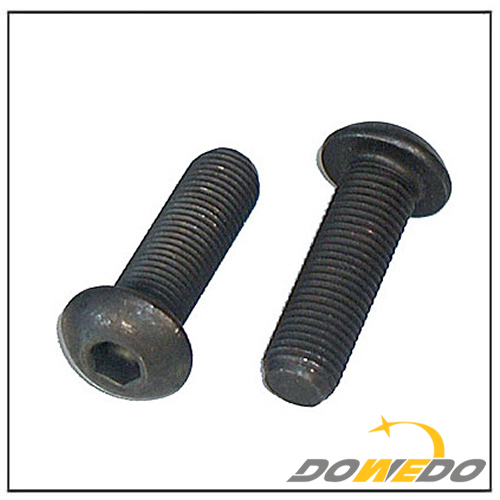 Button Socket Cap Screws Fine Plain Bolts