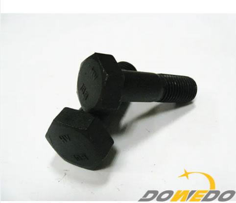 DIN 6914 Gr, 10.9 Heavy Hex Bolt Black Finish