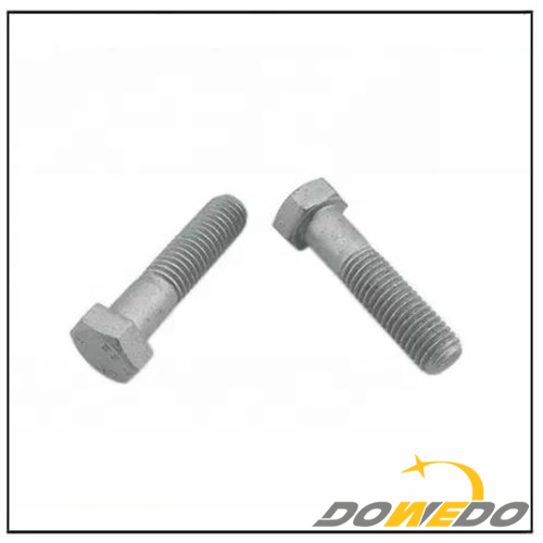 Dacromet Finish Carbon Steel Hexagon Bolts