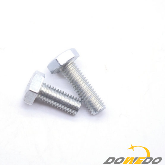 Galvanized Steel Hex Bolts and Nuts DIN933