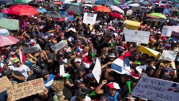 Los organizadores de la protesta pacífica esperan reunir a un millón de personas con el respaldo que reciben de artistas dominicanos.