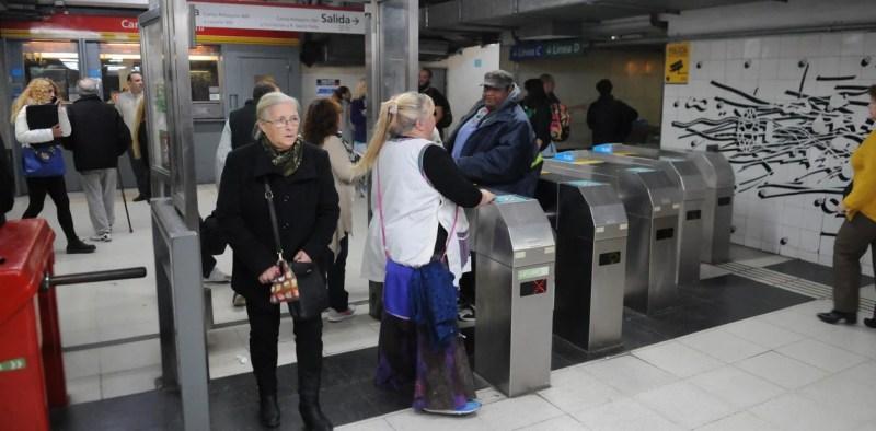 Desde mañana, los metrodelegados liberan molinetes en reclamo de paritarias