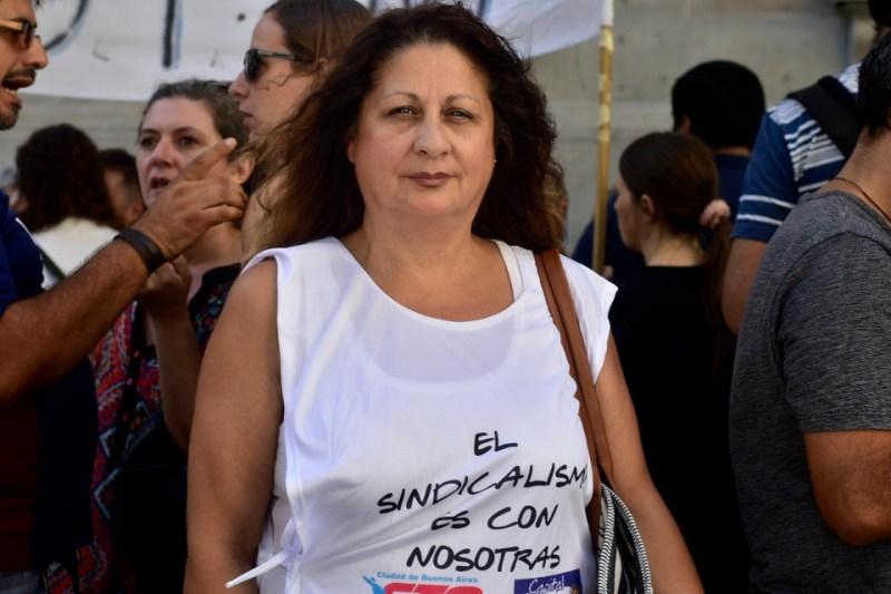 Patricia Blanco, CTA de los Trabajadores
