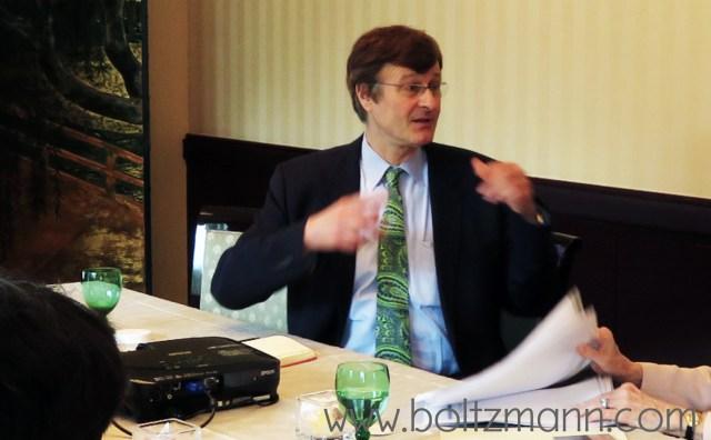Gerhard Fasol, CEO, Eurotechnology Japan KK, Board Director, GMO Cloud KK. former faculty Cambridge University and past Fellow, Trinity College Cambridge: Entropy, information and Ludwig Boltzmann