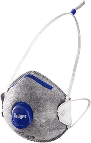 X-plore 1350 N95 OV odor with valve, M/L (Case of 10)