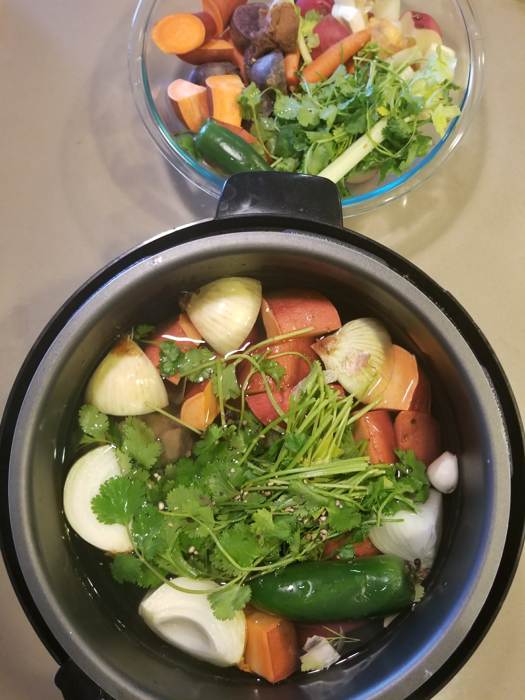 Instapot Magic Mineral Broth