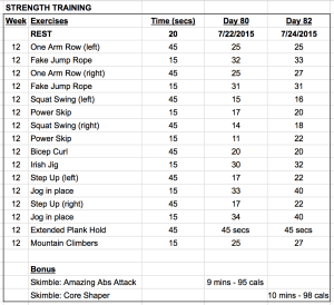 WEEK 12: Strength Training