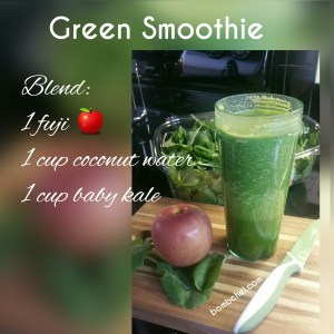 Green Smoothie: Apple & Kale