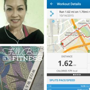 S-health 5k, Map My Run & Nike+ Running