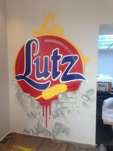 Logo, Bäcker Lutz, Mühlheim-Kärlich, 2016