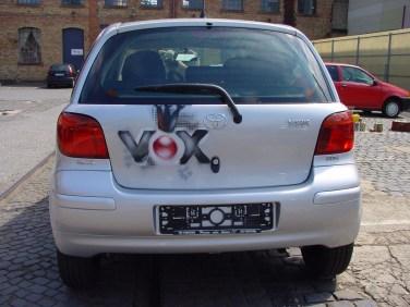 Toyota Yaris für Auto, Motor, Sport TV, VOX 2005