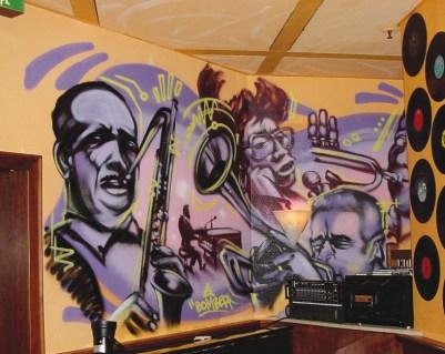 Bar New Morning, Schillerpassage Frankfurt am Main, 2003