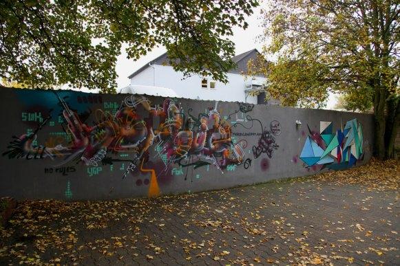 Bomber & Sign 2011, freestyle stylewriting Graffiti Art