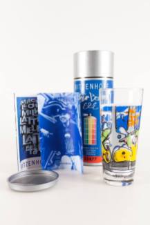 Ritzenhoff Graffiti Milkglas Milchglas Serie, 1997