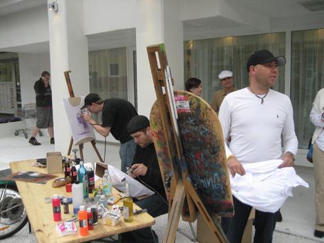 Event for Saatchi & Saatchi @ ich weiss, Frankfurt, 2007