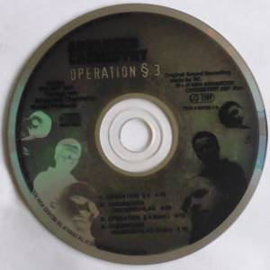 CD Label Advanced Chemistry Operation § 3 1994