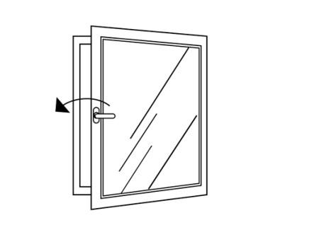 CAMPUSERVICE der Goethe-Universität 2017 Piktogramme: Fenster schließen