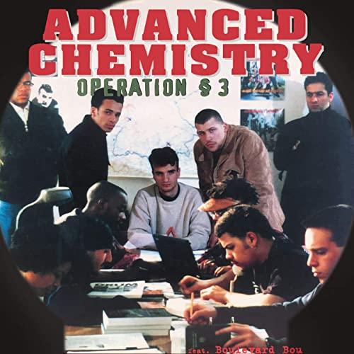 CD und 12 inch Vinyl Cover + Label Advanced Chemistry Operation § 3 1994