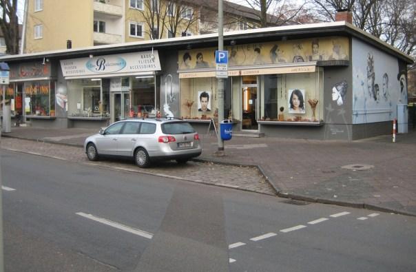 Fassade Eschersheimer Landstraße 264, Frankfurt, 2007