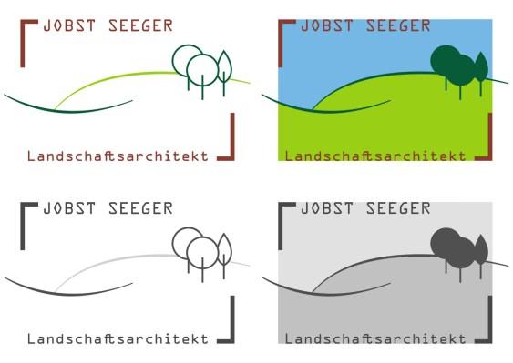 Jobst Seeger Landschaftsbau Corporate Corporate Logo redesign 2015