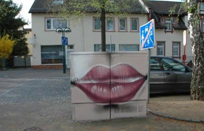 Nassauische Heimstätten Projekt Stromkästen Hattersheim, Frankfurter Straße, 2011