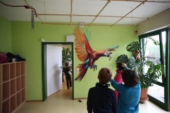 Wandgestaltungen Kita Hofheim-Diedenbergen