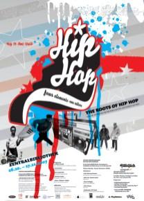 Sticker Aufkleber I Love Real Hip Hop, The Roots of HipHop, Frankfurt 2007