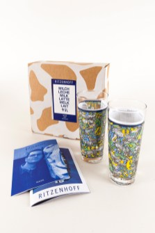 Milkglas Mate Pius Portmann Ritzenhoff Graffiti Milkglas Milchglas Serie, 1997