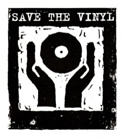 Save the vinyl, Label Corporate Logo design client: Logic Records 1993