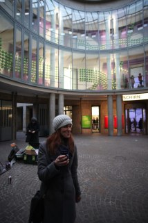 Urban Art Tour Evangelische Akademie, Wien in Frankfurt + Schirn Graffiti Art Workshop, 2015