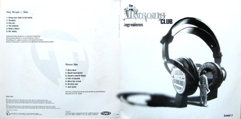 The Marquis Club Level 1 12 inch Vinyl cover artwork 1996