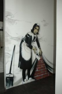 Banksy Motiv, Klassikstadt Werkskantine