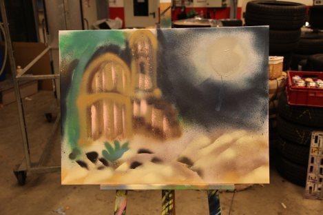 Graffiti Art Team Event Fire Eye, 151118, Atelier Bomber