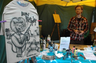 Museumsuferfest MUF Live Street Art Airbrush 2010/2011