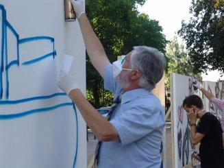Graffiti Workshop, Quellenfest Bad Vilbel 2009