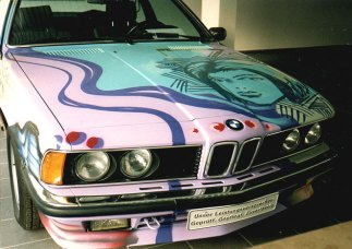 BMW artcar: BMW 635 CSI by Bomber 1993