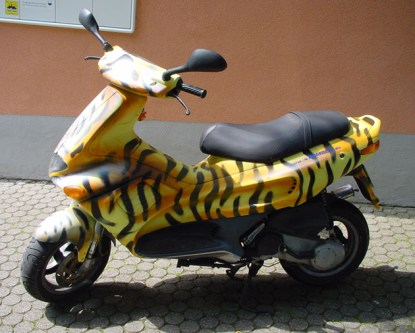 Scooter, Roller Tiger, 2004
