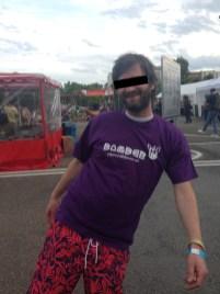 Purple/Lila. Bomber wear shirts
