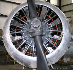 "Pratt & Whitney ""Wasp Jr."" R985"