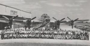 Post-War RCAF Lancasters