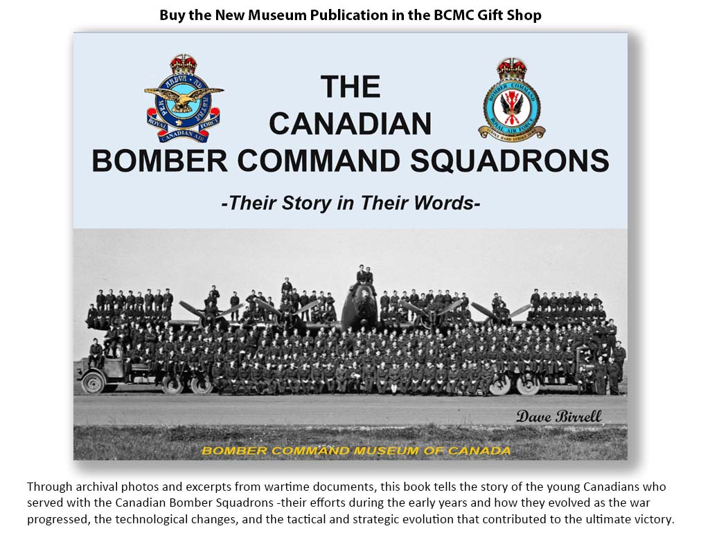Photo of the front cover of The Canadian Bomber Command Squadrons - Their Story in Their Words
