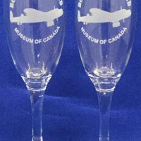 CHAMPAGNE FLUTE SET – Bomber Command Museum of Canada