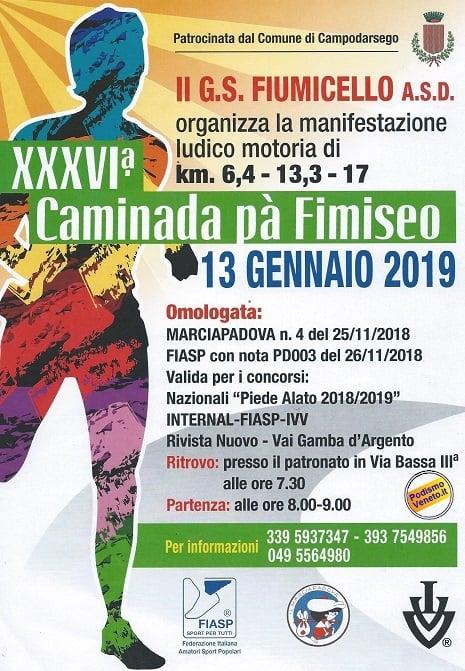 36a CAMINADA pà FIMISEO